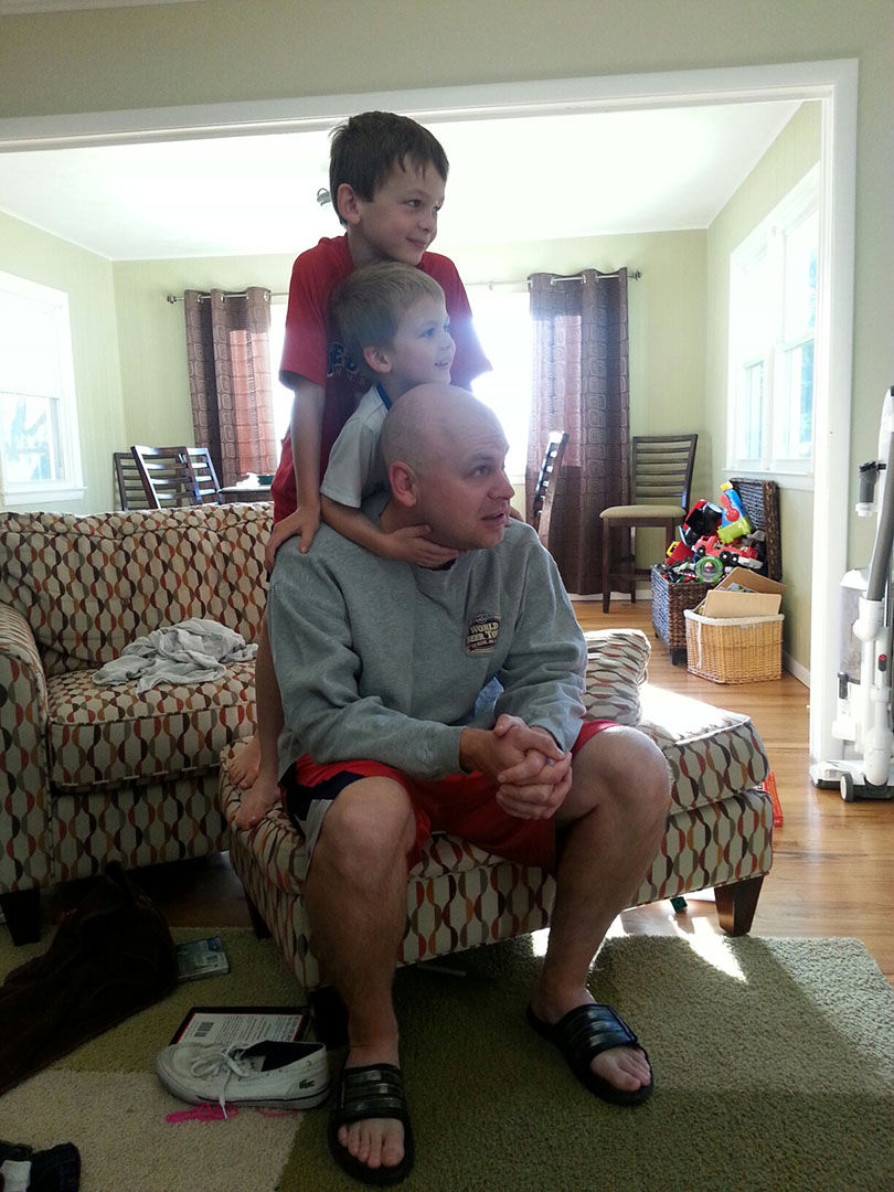 Awesome dad - Pat Hillyer