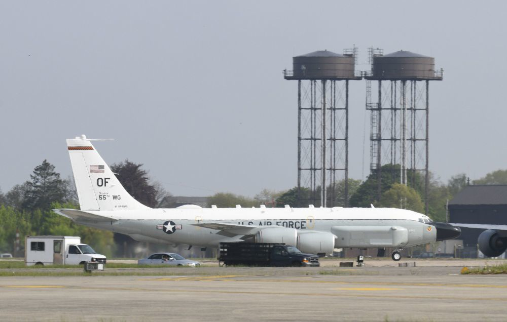RC-135 at Mildenhall
