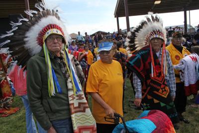 Robert O'Brien at Powwow