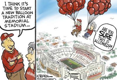 Jeff Koterba's latest cartoon: A new tradition