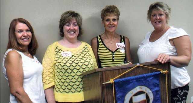 Woman's club has new faces