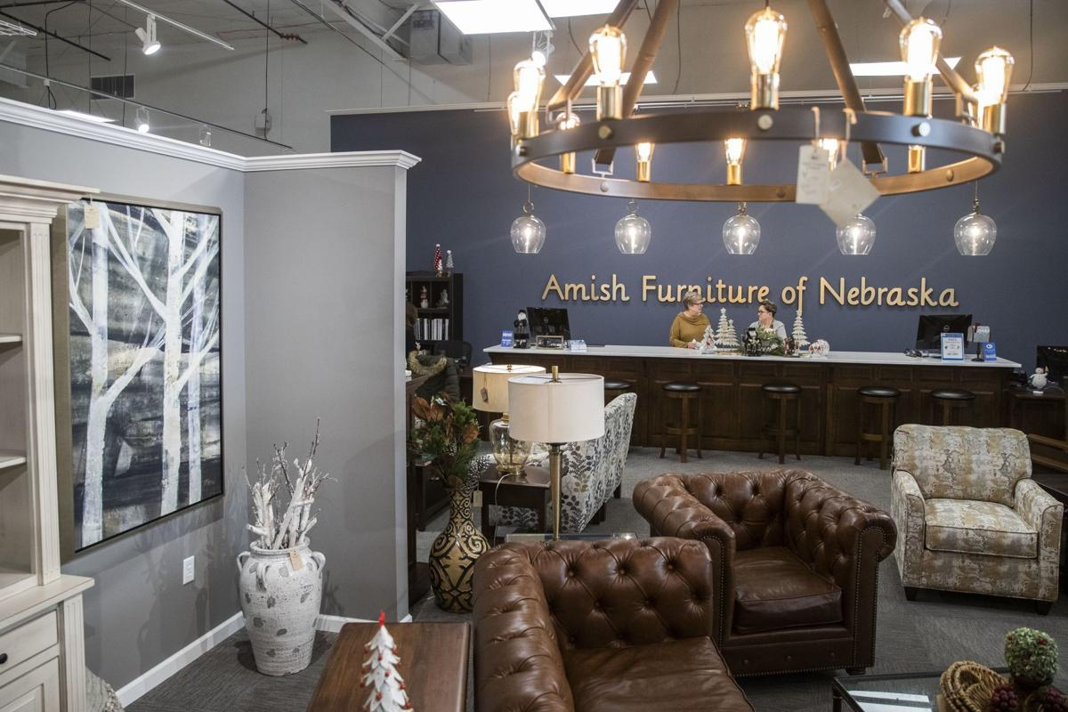 We just saw an opening' Amish made furniture store opens new ...