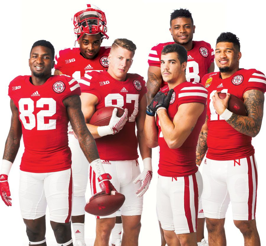 Nebraska, long an 'I-back U,' may have the Big Ten's most accomplished set of receivers