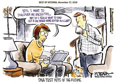 Best of Jeff Koterba's cartoons: How much information is TMI?
