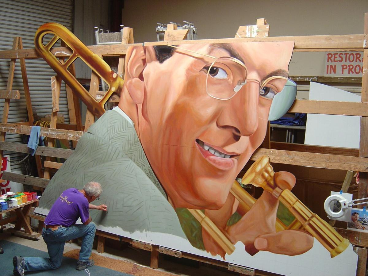 Glenn Miller mural