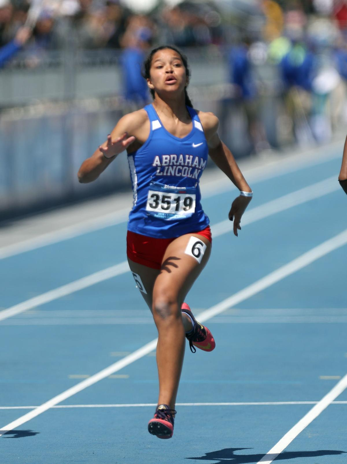 Council Bluffs Abraham Lincoln's Darby Thomas adds hurdles title to her Drake Relays haul (insert)