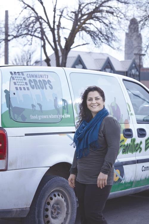 Farmers market on wheels