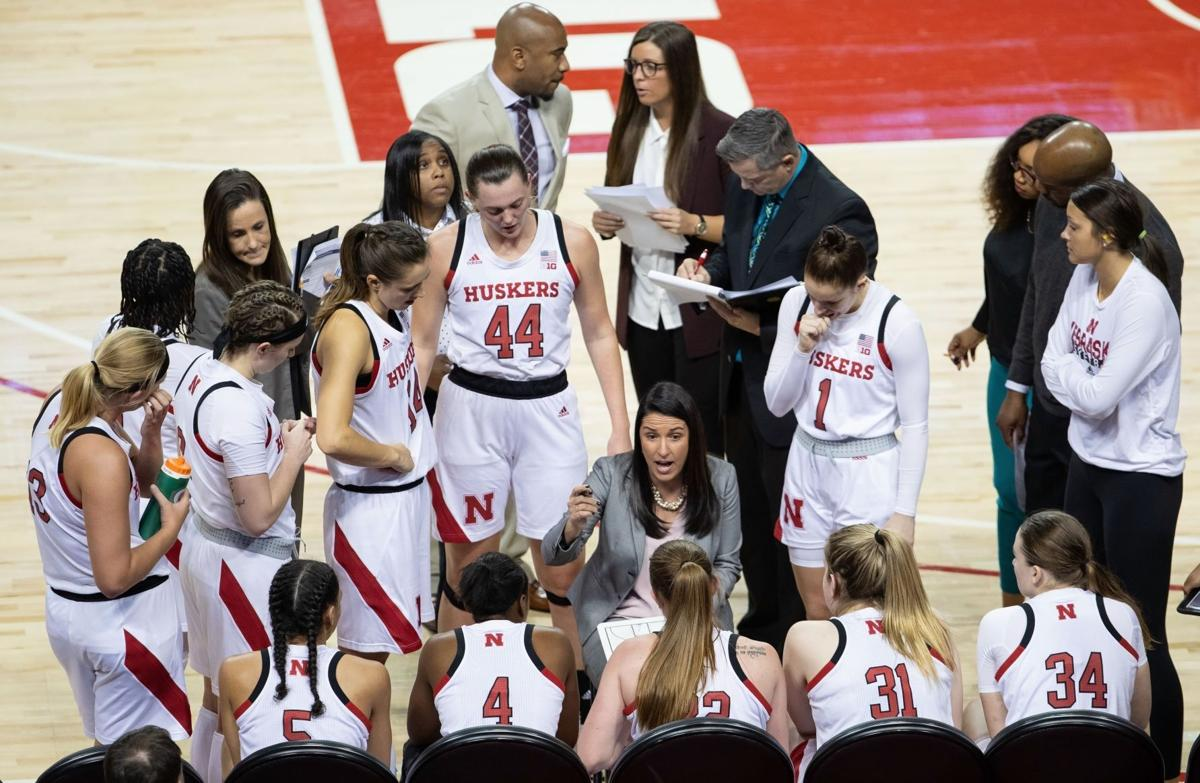 Amy Williams finds 'silver lining' as COVID, injuries disrupt practice for Husker women