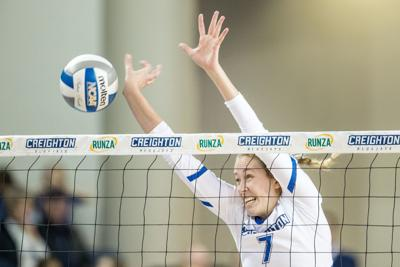 On Huskers' home court, confident Creighton volleyball team plans to stick together and focus