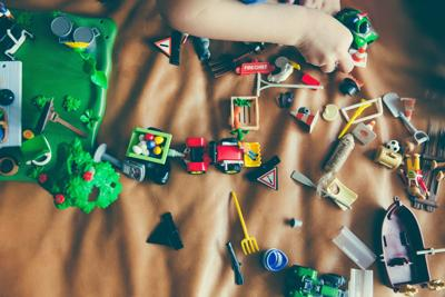 Toys clutter