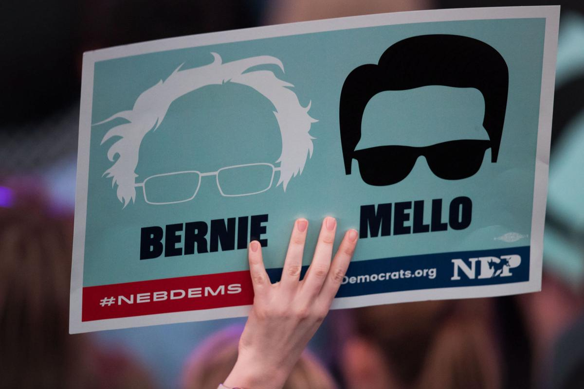 Bernie/Mello sign