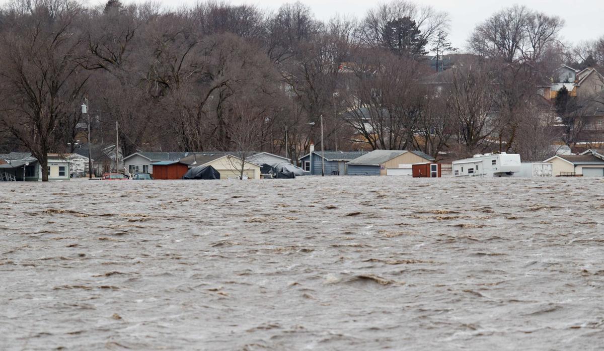 Iowa and Nebraska were hit hard by flooding
