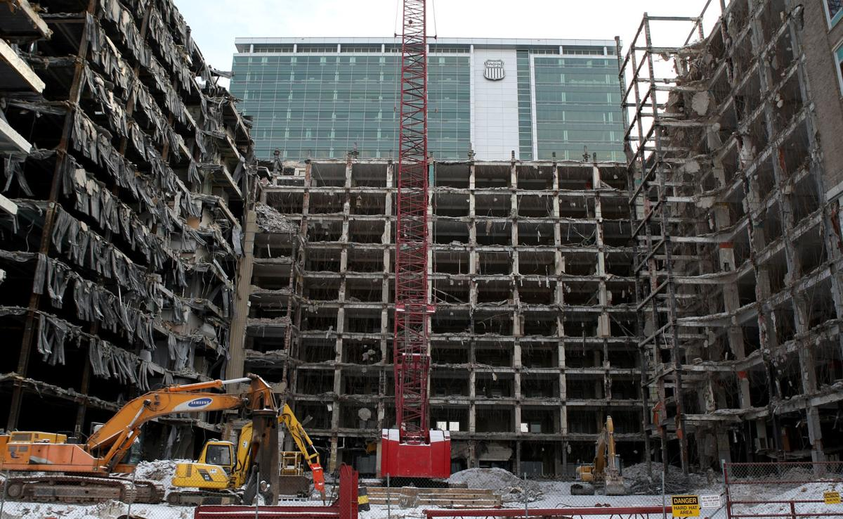 U.P. demolition