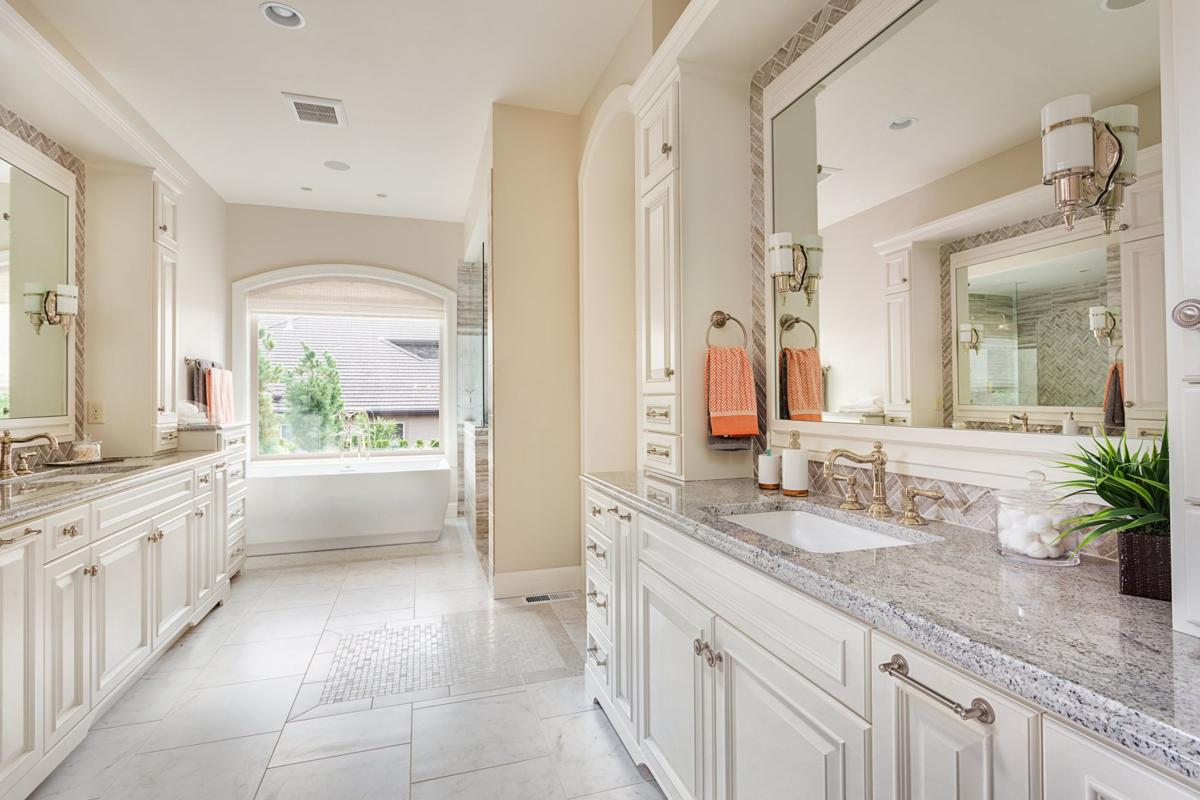 The national average bathroom remodel cost is $9,755, according to HomeAdvisor's True Cost Report.