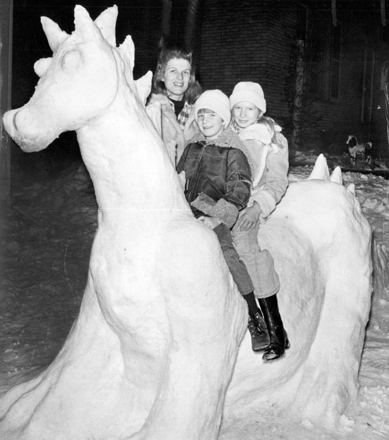 Photos Snow Sculptures Of Yesteryear Omaha Com