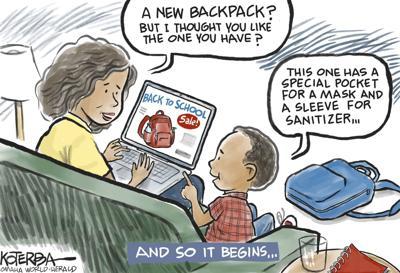 Jeff Koterba's latest cartoon: A whole new back to school