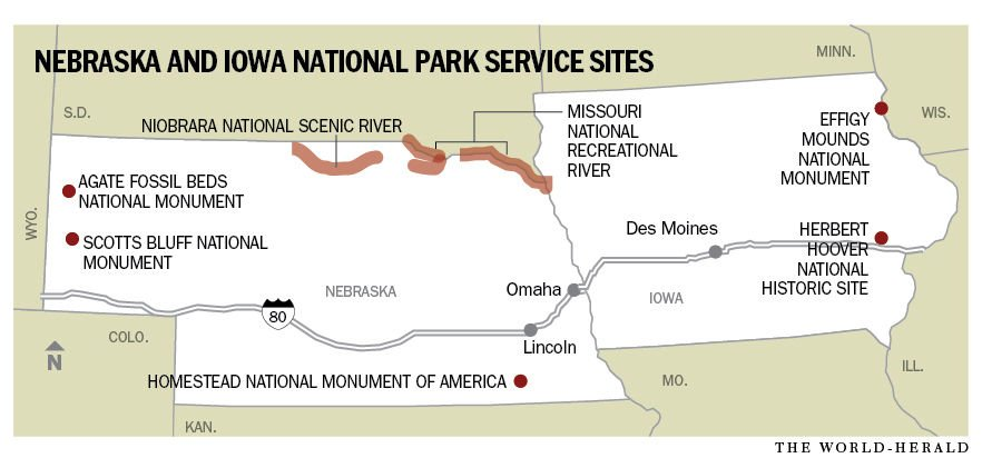 7 National Parks In Nebraska Iowa Pour More Than 23 Million Into