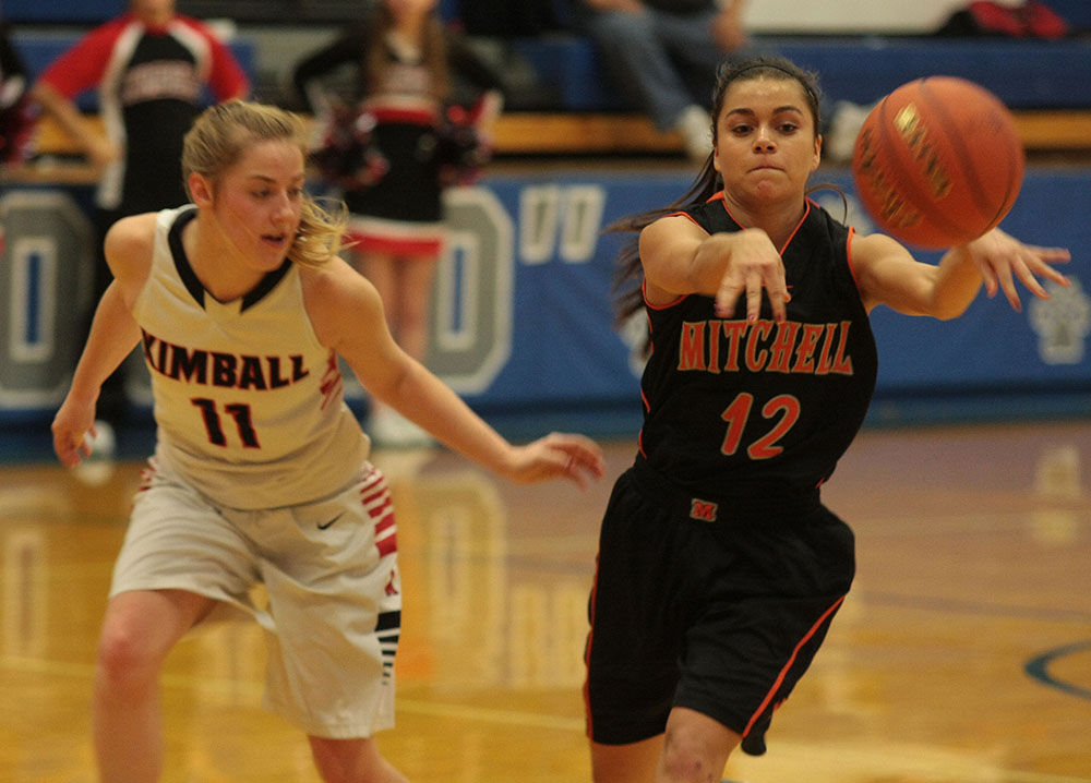 Mitchell girls turn back Kimball