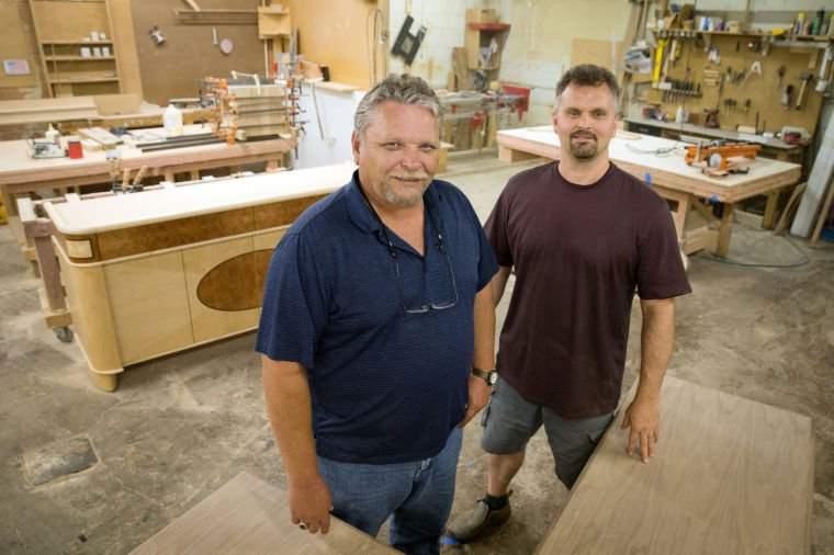 Omaha woodworking firm spreads its expertise to a new how-to book