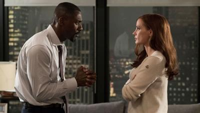 Molly's Game Elba and Chastain