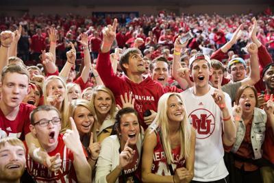 Nebraska basketball fans