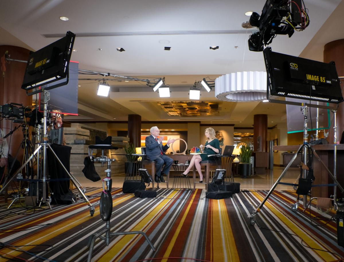 "Warren Buffett on ""Squawk Box"" - showcase"