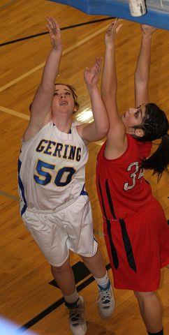 Gering girls hold off Scottsbluff