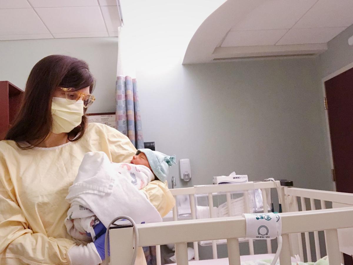Kelli Bello with daughter Joslyn
