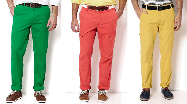Brightly-colored pants for men? Yay or nay? | Blogs | omaha.com