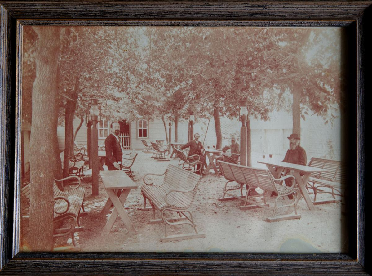 late 1800s glur's beer garden