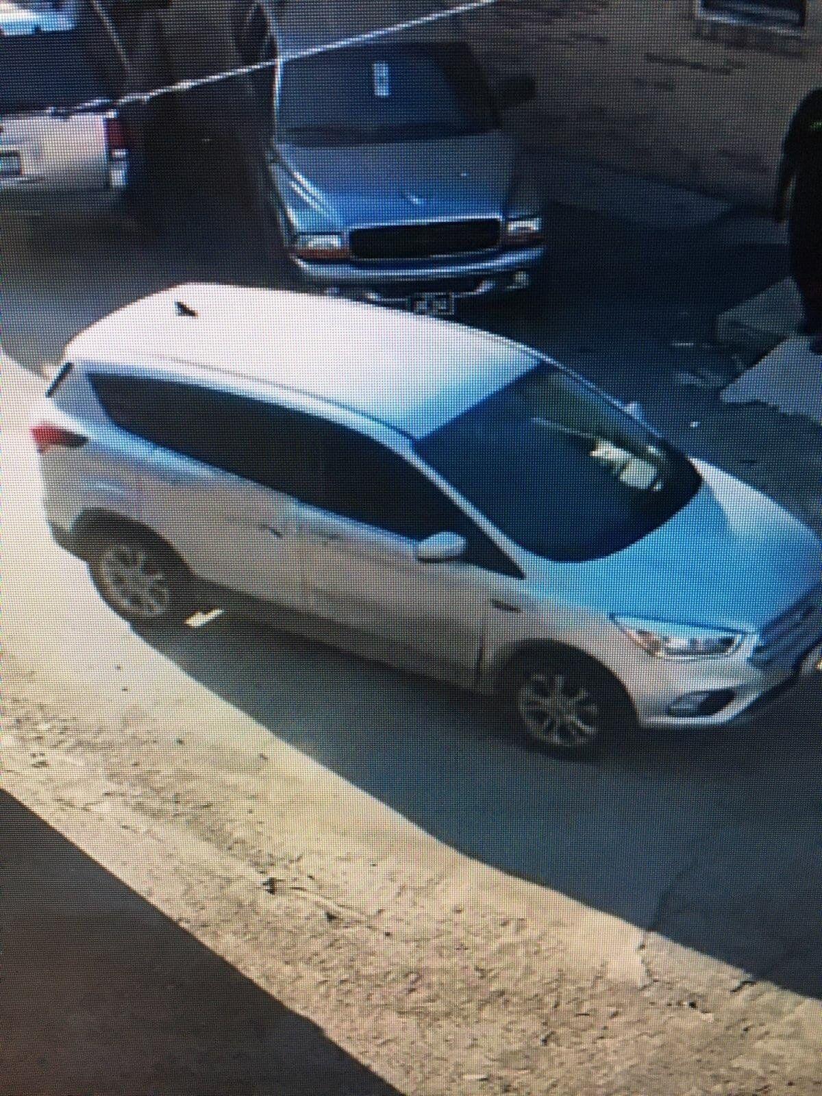 Minivan linked to homicide