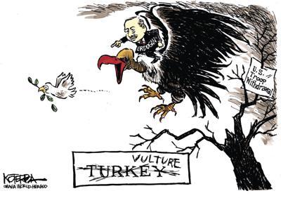 Jeff Koterba's latest cartoon: When is a turkey not a turkey?