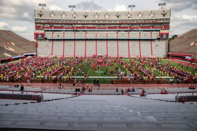 Air Jordans and a 250-plus-yard QB line: Here's what we saw and heard at Nebraska's Fan Day