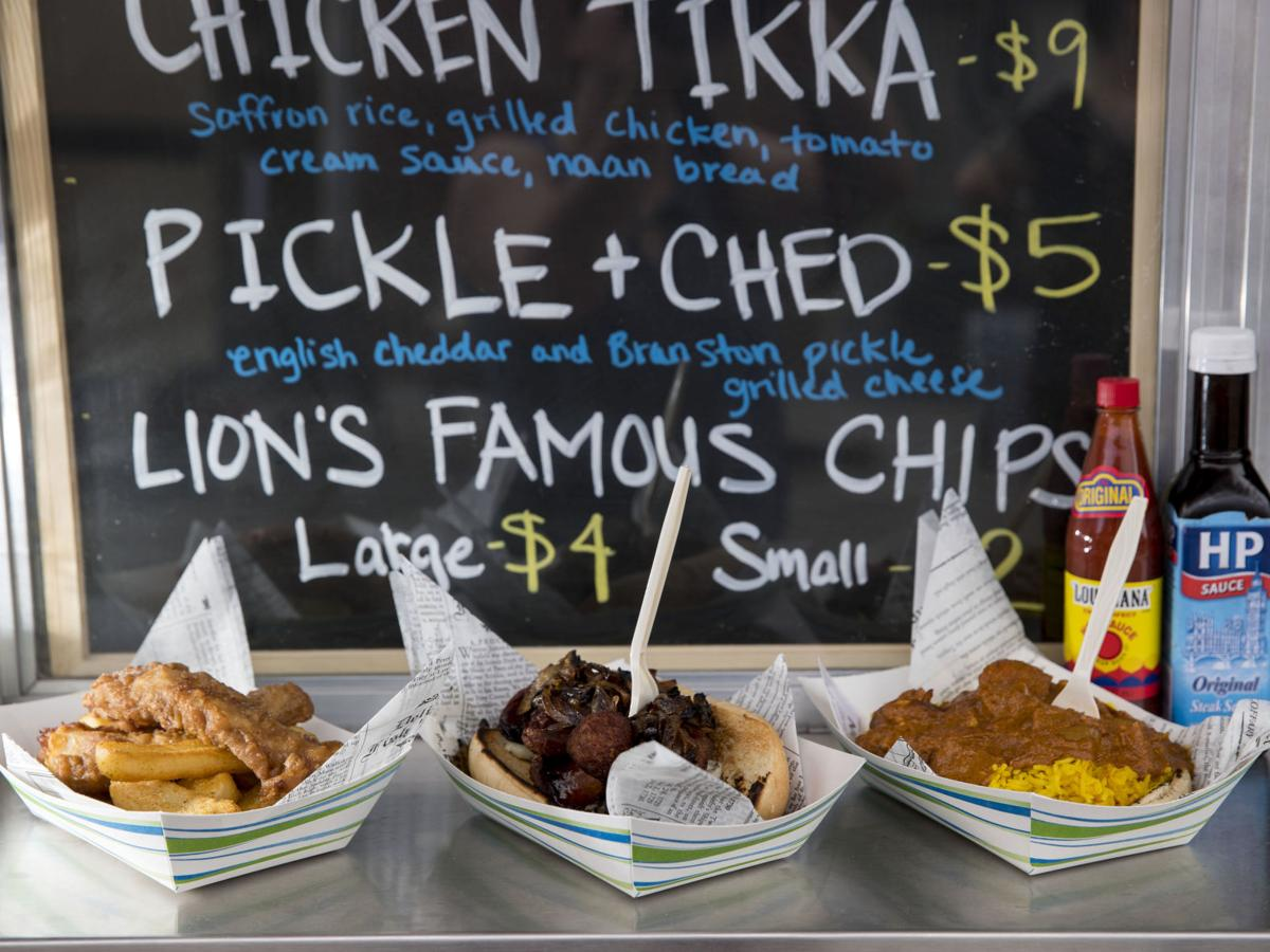 Review: Dire Lion food truck fills a niche with fresh, creative takes on British classics