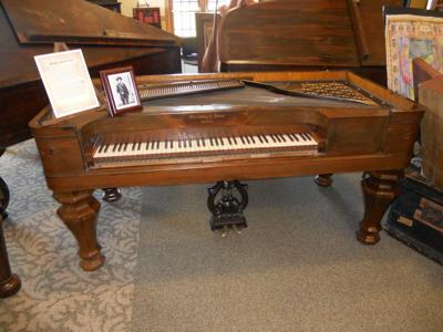 College of St. Mary gallery's exhibit offers a lesson in the piano's history