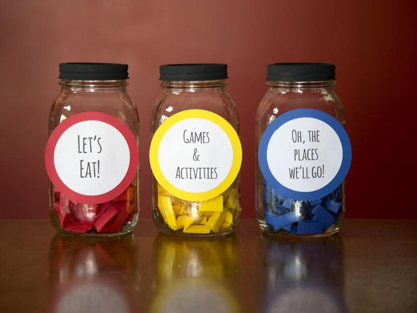Bored? Decide what to do and where to go with these boredom buster activity jars