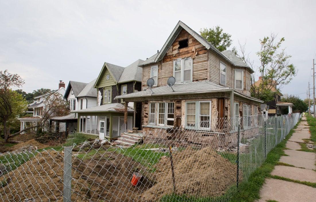 Homes to be demolished