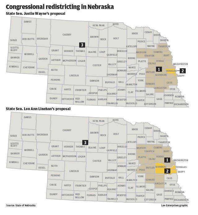 Congressional redistricting in Nebraska