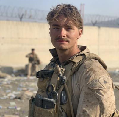 Daegan Page in Afghanistan
