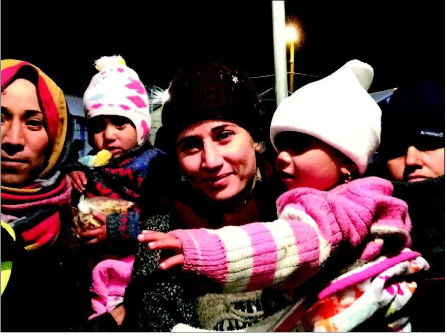 Their response to refugee crisis: going to help