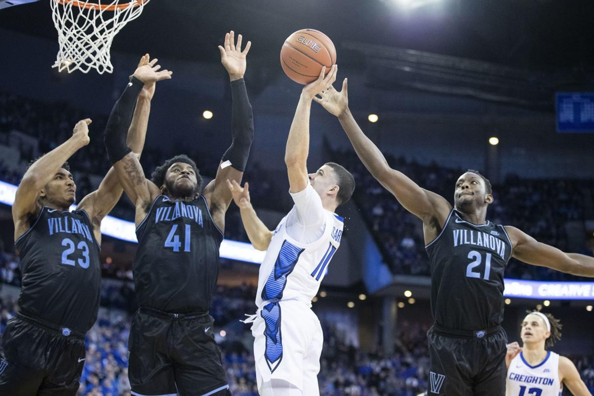Creighton lacks its best punch against Villanova, fails to knock off the kings of the Big East