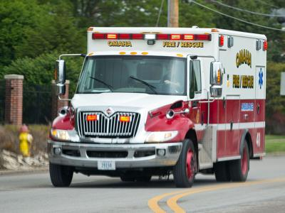 74-year-old woman critically injured in two-vehicle crash