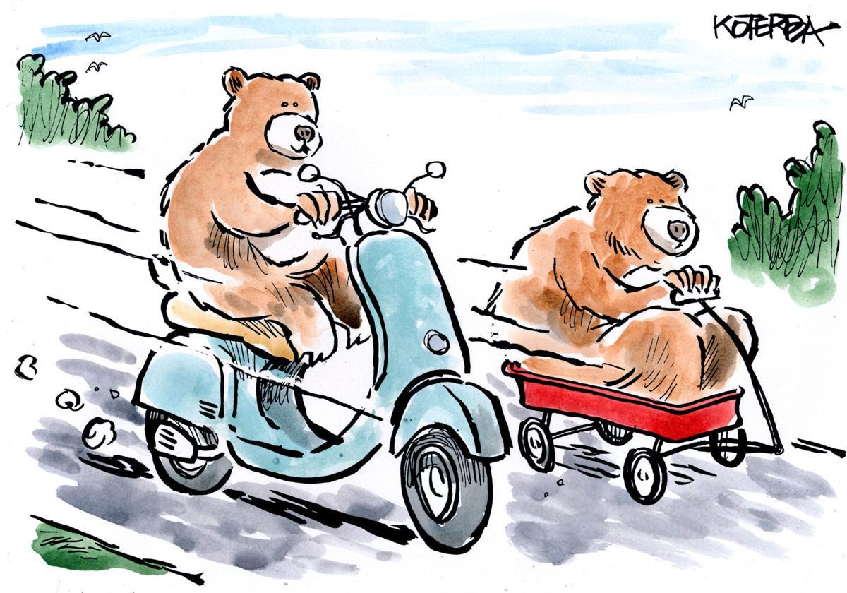 New cartoon, May 2018