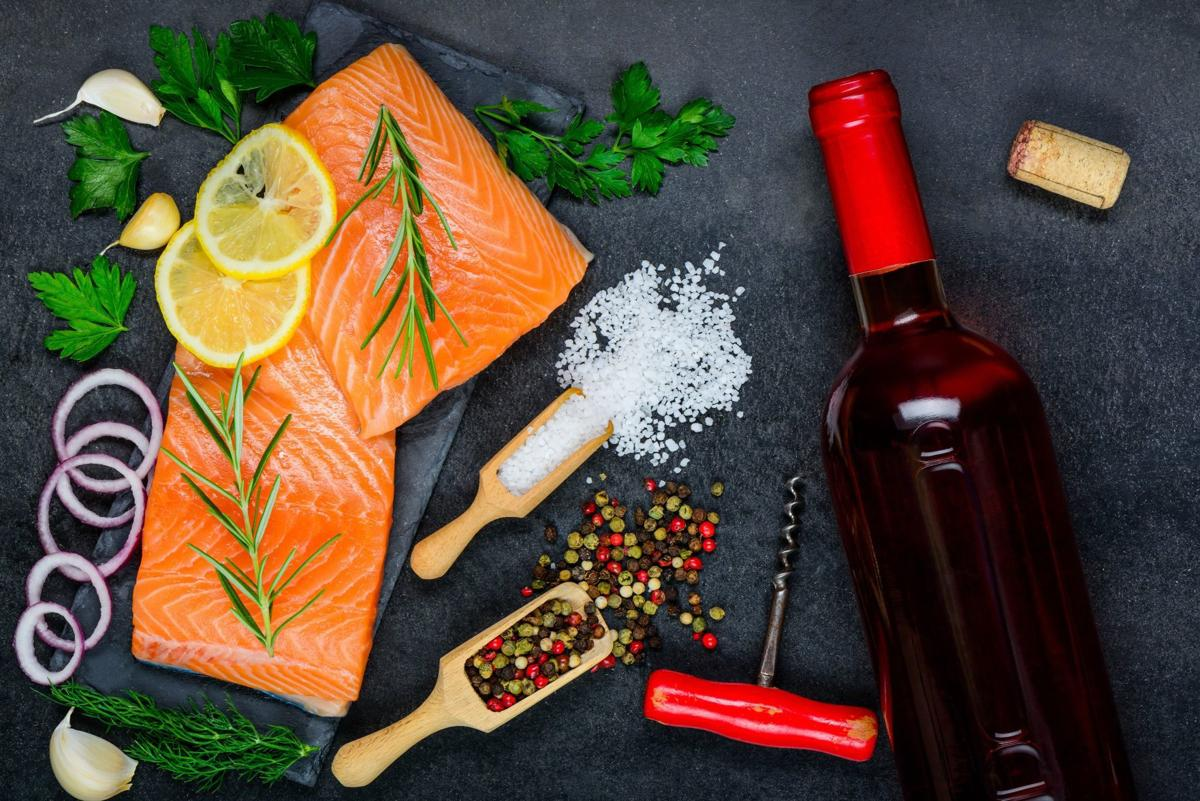 Healthy fish and wine it 39 s good for the heart and the for Wine with fish