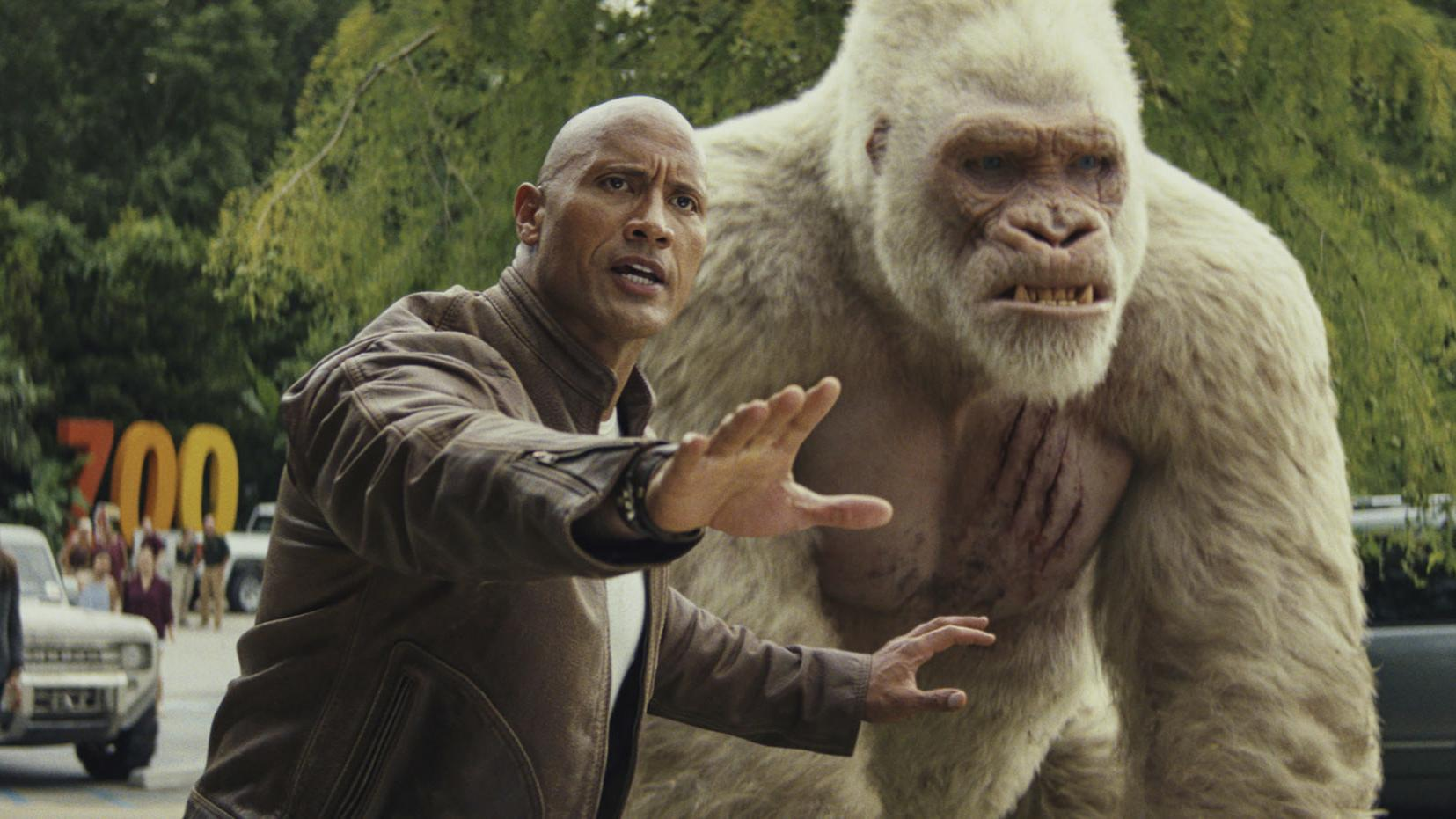 Review Rampage Has Glimmers Of Dumb Fun But It S Mostly Just