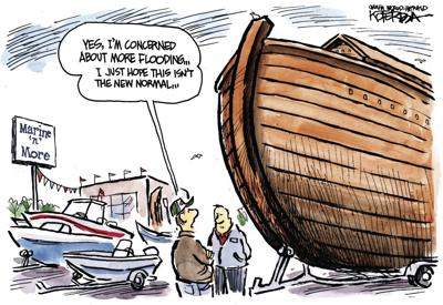 Jeff Koterba S Latest Cartoon The New Normal Opinion Omaha Com