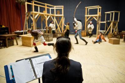 Omaha Community Playhouse rehearsal