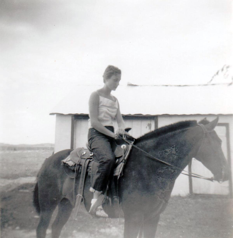 Joyce Cox about 1954