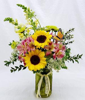 Corum's Flowers & Gifts | Greenhouse | Delivery| Council Bluffs | Omaha | Sunny-Day