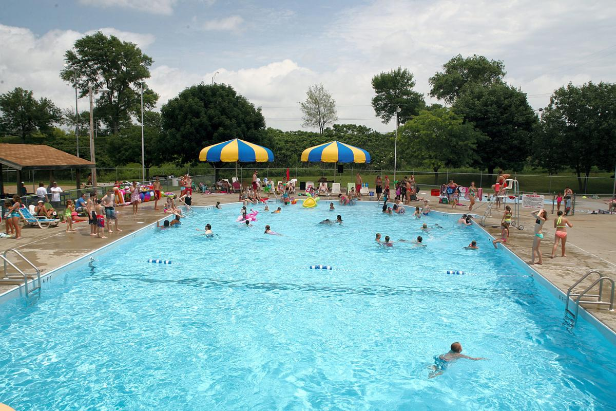 Go to the pool or a splash pad